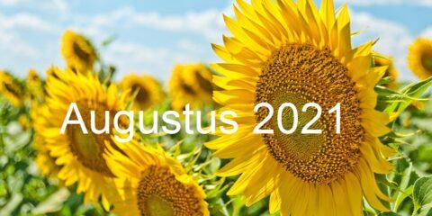 Nieuwsbrief augustus 2021